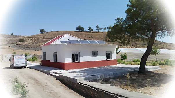 Instalación solar Granja de Caracoles