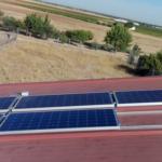 Instalación solar casa de campo