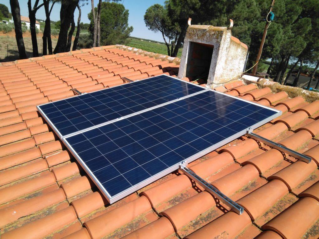 Instalación Fotovoltaica Chalet