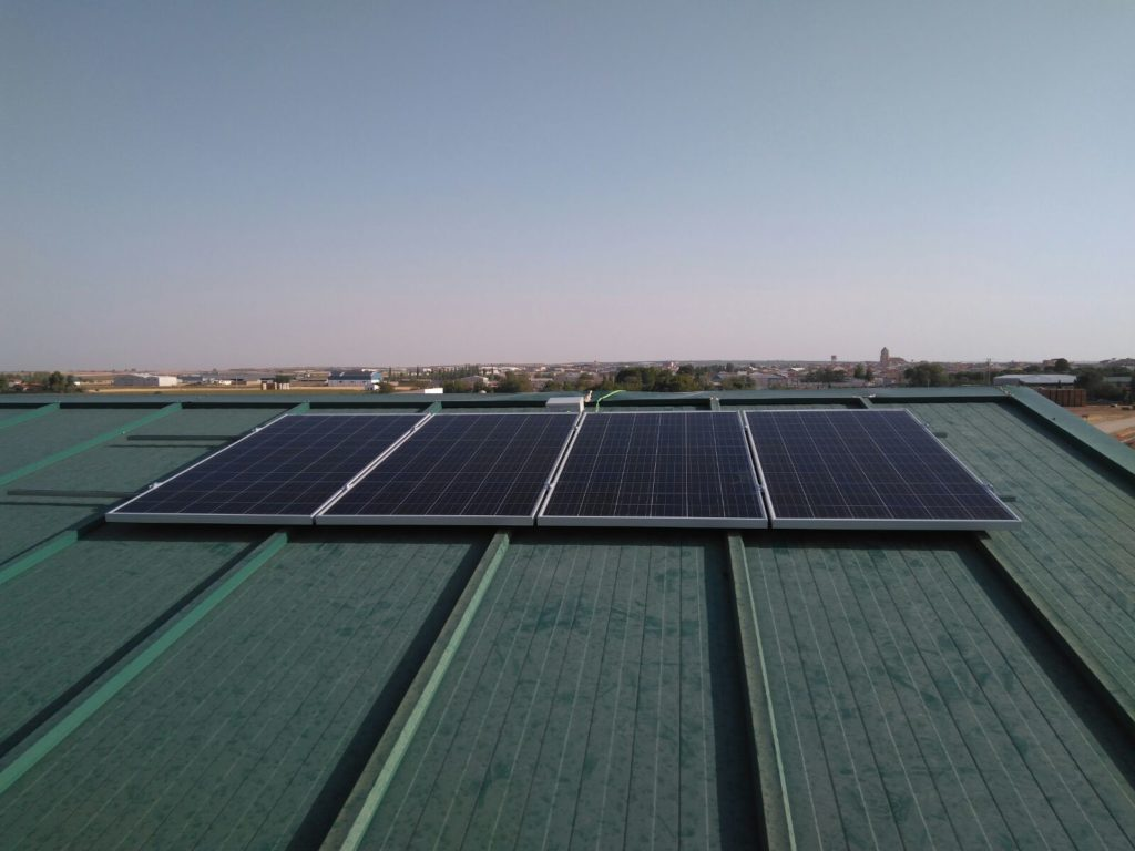 Instalación Fotovoltaica Para Nave Almacén de Ajos