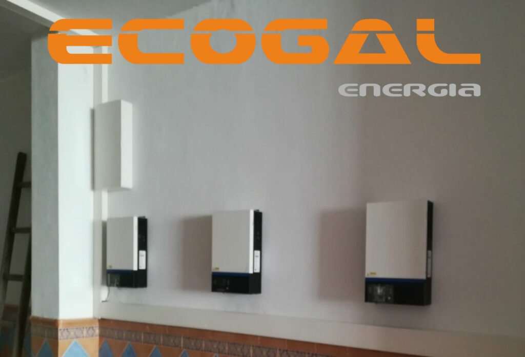 INSTALACIÓN SOLAR AISLADA DE 3.780 WP Y 10,4 Kwh de acumulación con baterías de litio EAS BATTERY