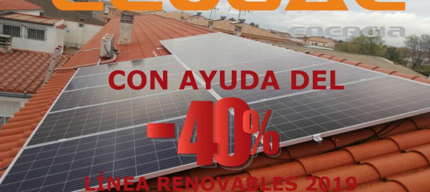 AUTOCONSUMO SOLAR DE 4.950 Wp EN UNA VIVIENDA EN SAN CLEMENTE.
