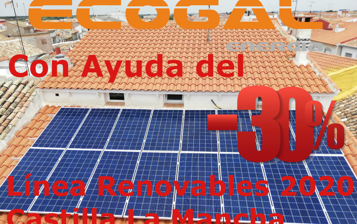 VIVIENDA EN AUTOCONSUMO SOLAR CON CALOR AZUL