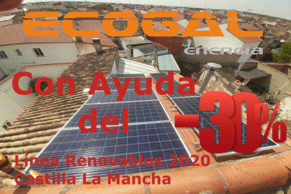 INSTALACIÓN SOLAR PARA CALEFACCIÓN ELÉCTRICA EN EL PROVENCIO (CUENCA).