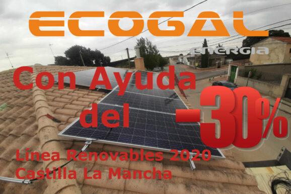 INSTALACIÓN SOLAR EN CASAS DE HARO (Cuenca) PARA UNA VIVIENDA.
