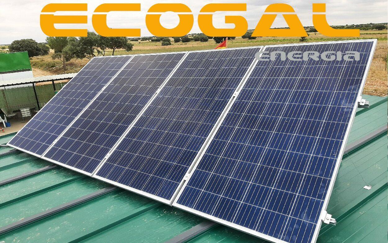 Instalación Solar Aislada en Las Pedroñeras de1,4 Kwp.
