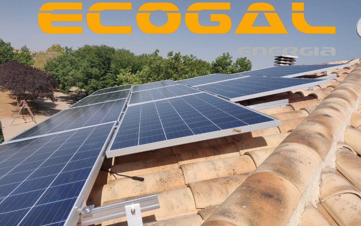 Placas solares en Mota del Cuervo para una vivienda.