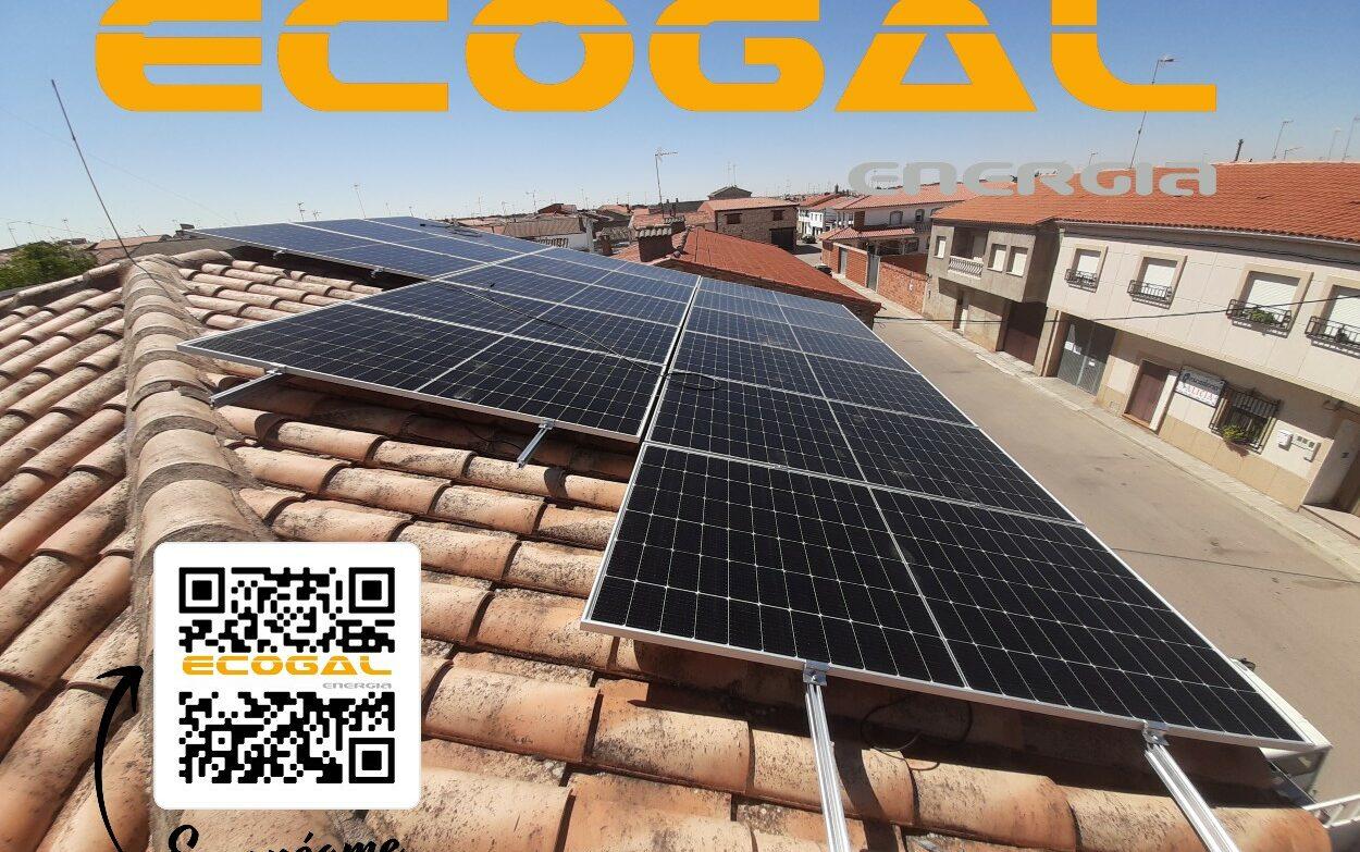 Módulos Solares en El Provencio para una vivienda.