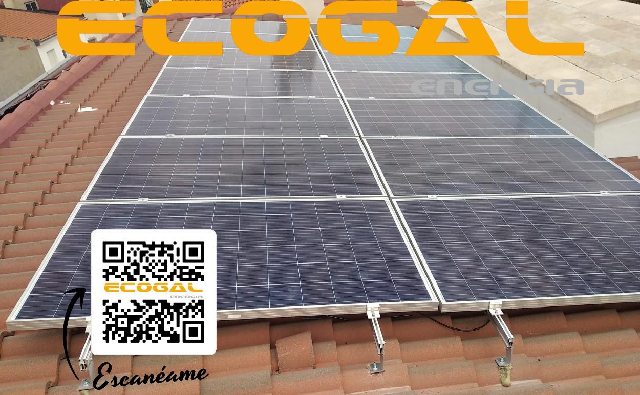 Autoconsumo Solar en La Solana de 10,56 Kwp.