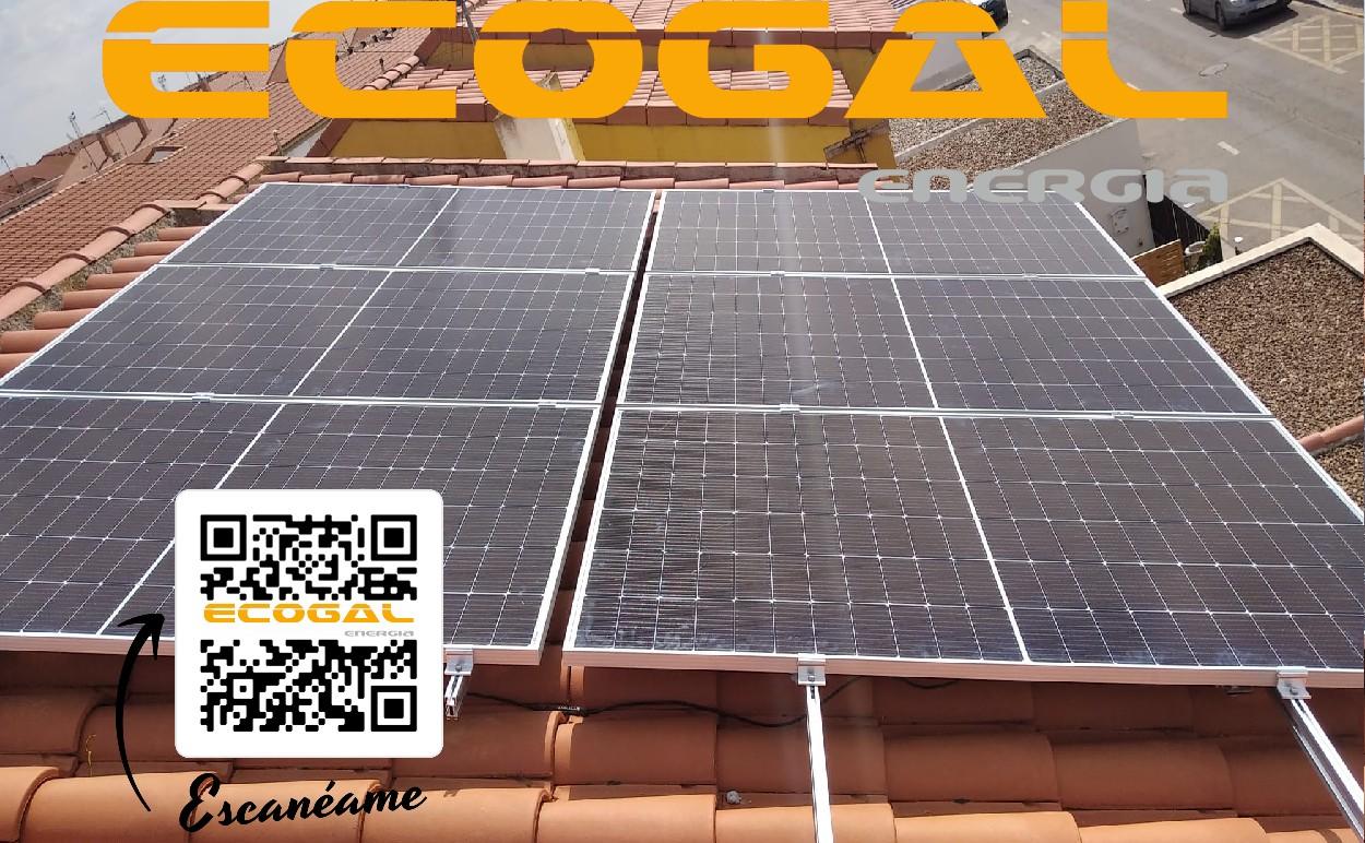 Instalación de placas solares en Miguelturra para una vivienda.