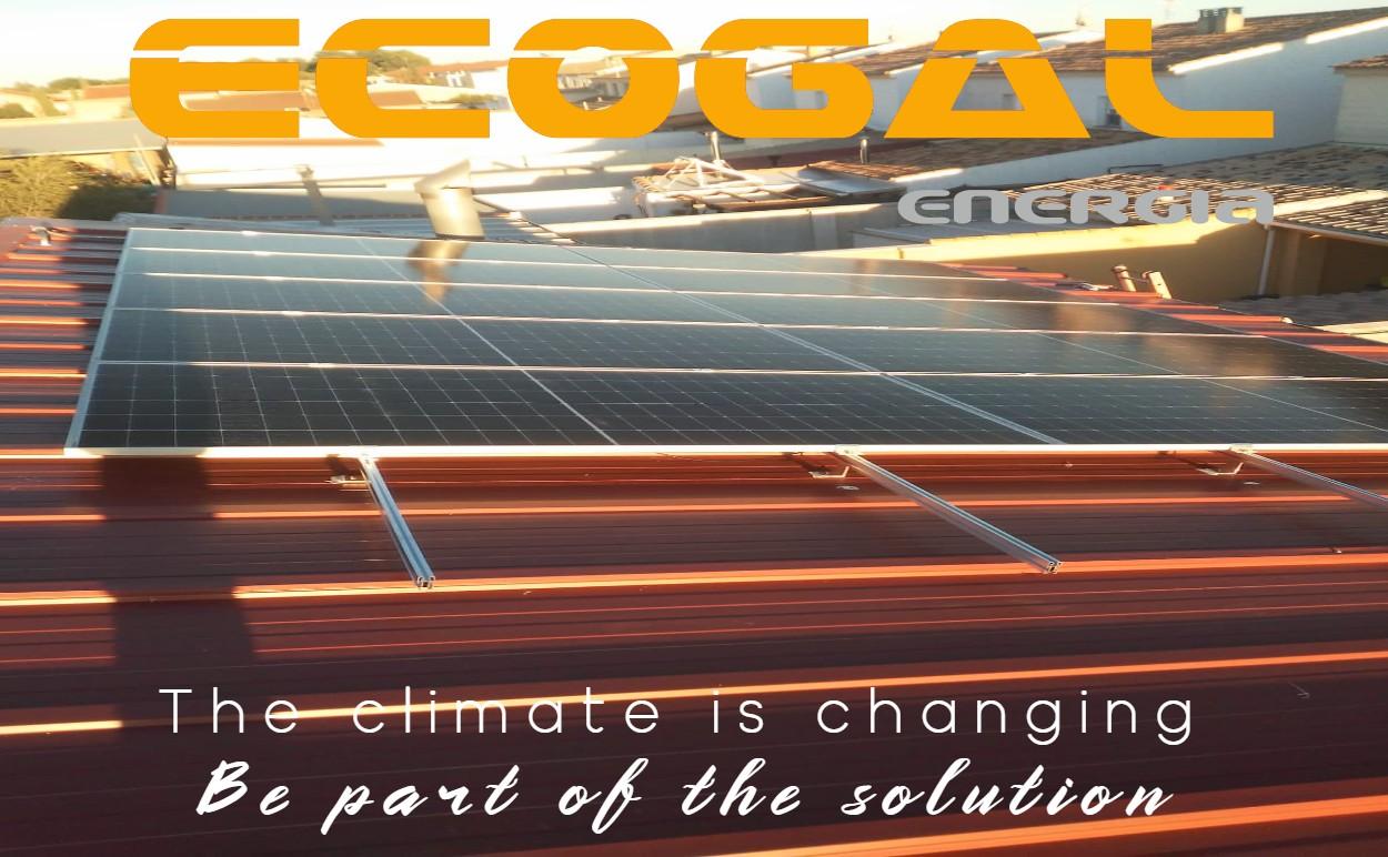 Vivienda en Socuellamos de placas solares. Ecogal Energía.