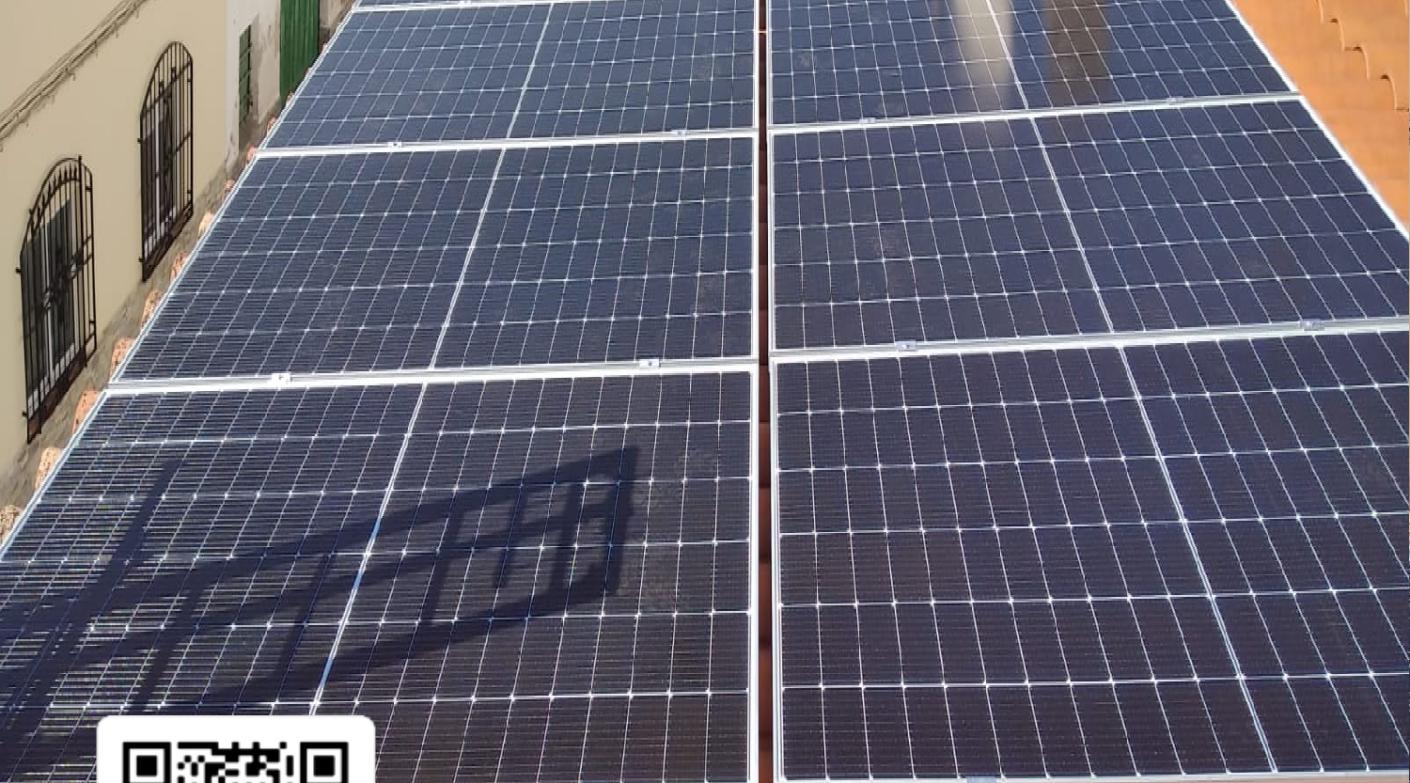 Placas Solares en una vivienda de El Provencio (Cuenca)